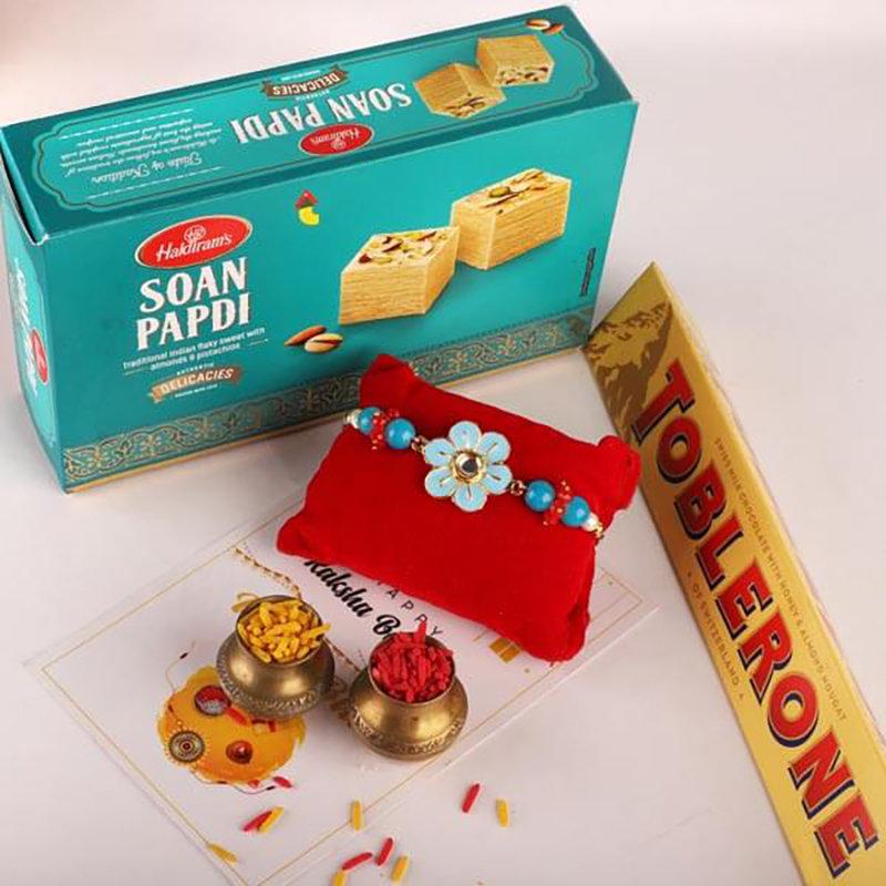 Sweet Chocolate Rakhi Combo