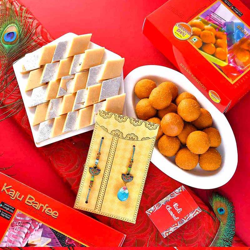 Sweet Couple Rakhi