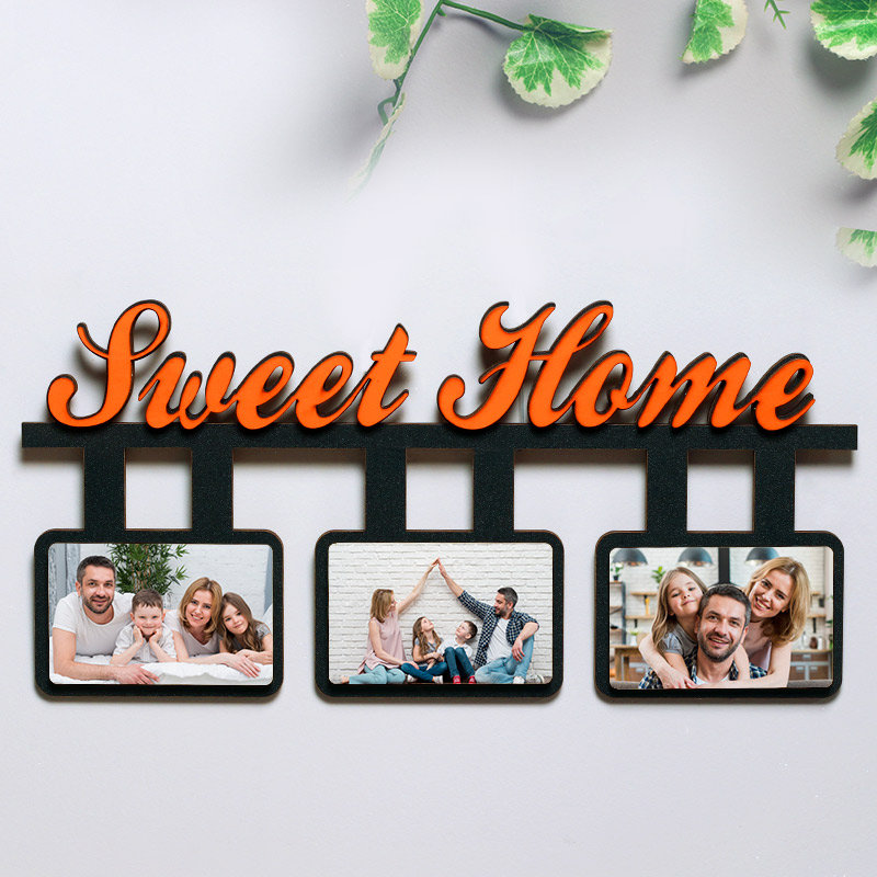 Sweet Home Personalised Wall Frame