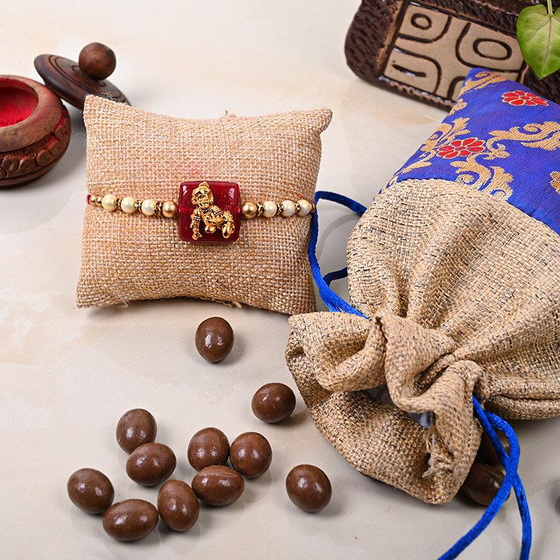 Sweet Kanahiya Rakhi Combo - One Designer Rakhi