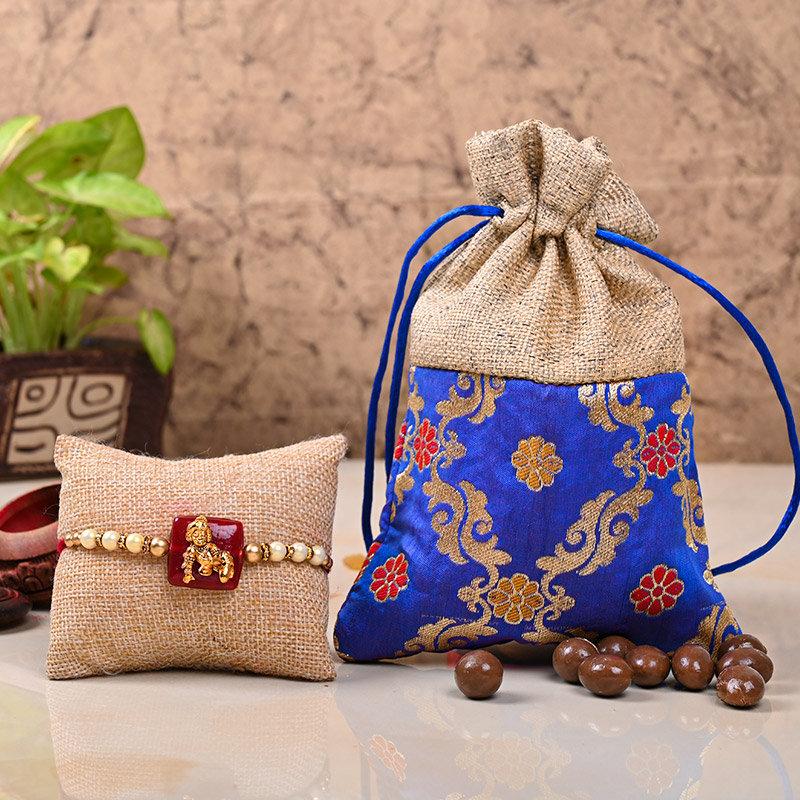 One Designer Rakhi - Sweet Kanahiya Rakhi Combo
