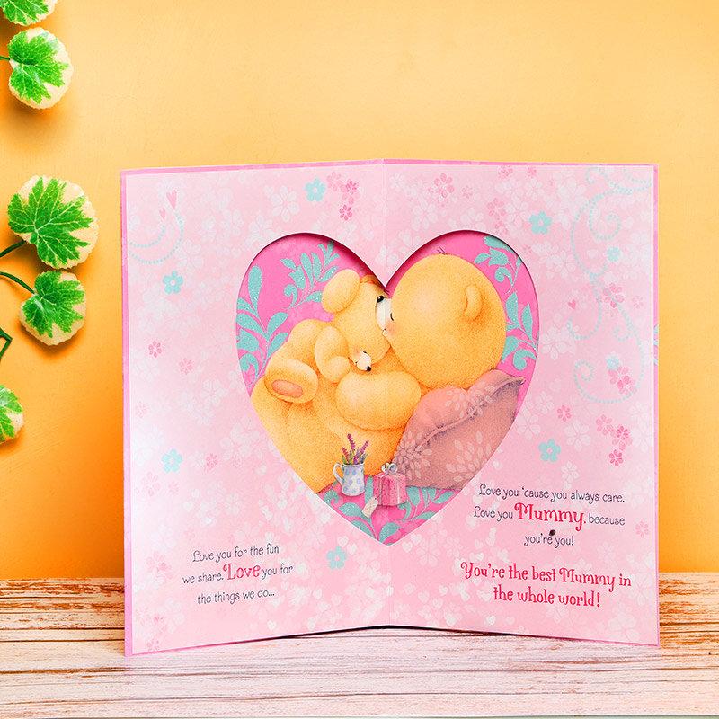 Inner Side of Sweet Mom Card