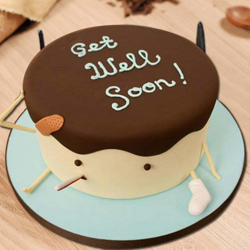 Get Well Soon Designer Cake