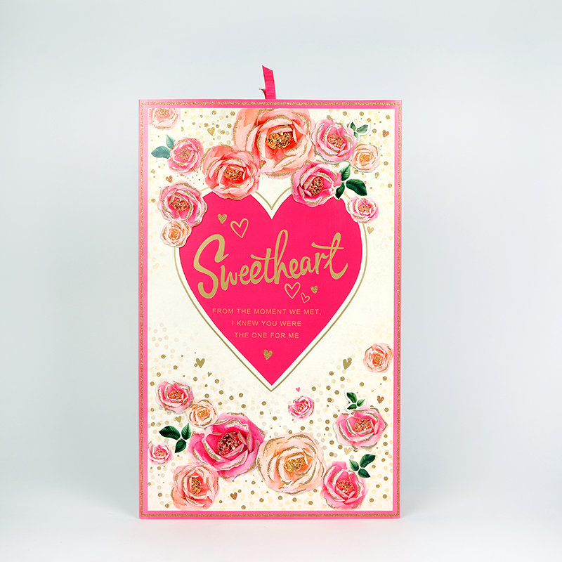 Romantic Valentine Gift Card for Girlfriend or Wife