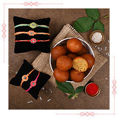 Send Online Rakhi With Sweets