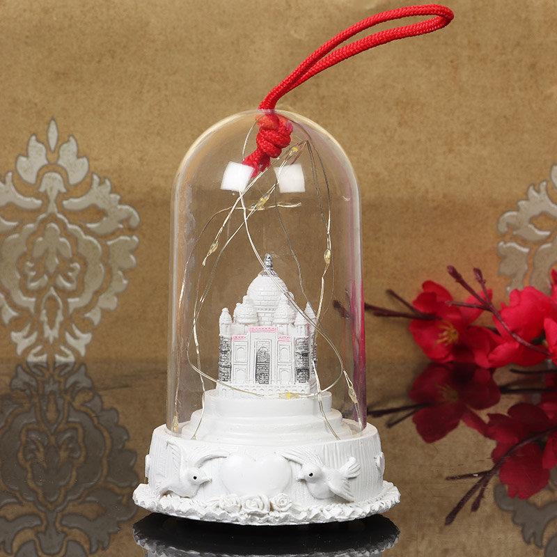 Taj Mahal Led Lamp Gift For Your Valentine Partner
