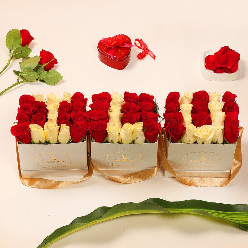 Beautiful Rose Box