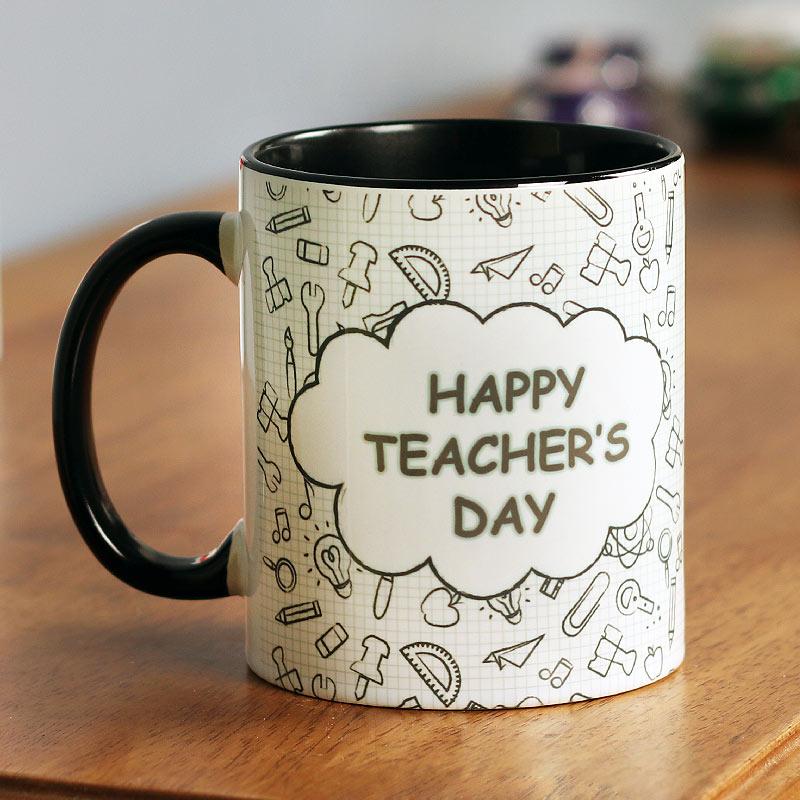 Happy Teachers Day Personalised Mug