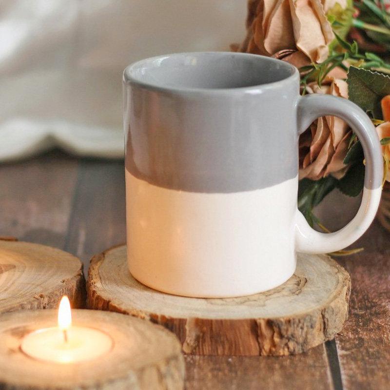 Teak Wood Candle Coaster Set
