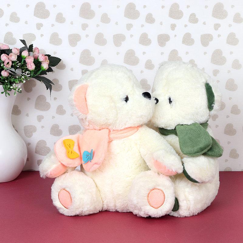 Couple Teddy Bear For Teddy Day