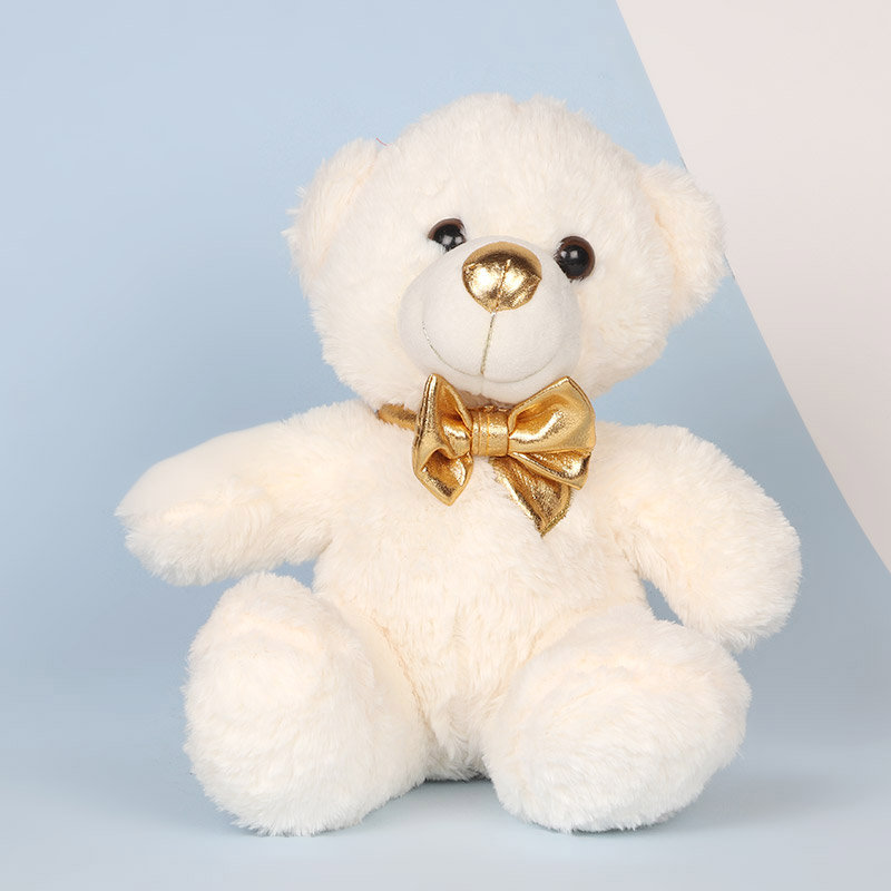 Valentines Day Teddy Bear & Flowers Combo
