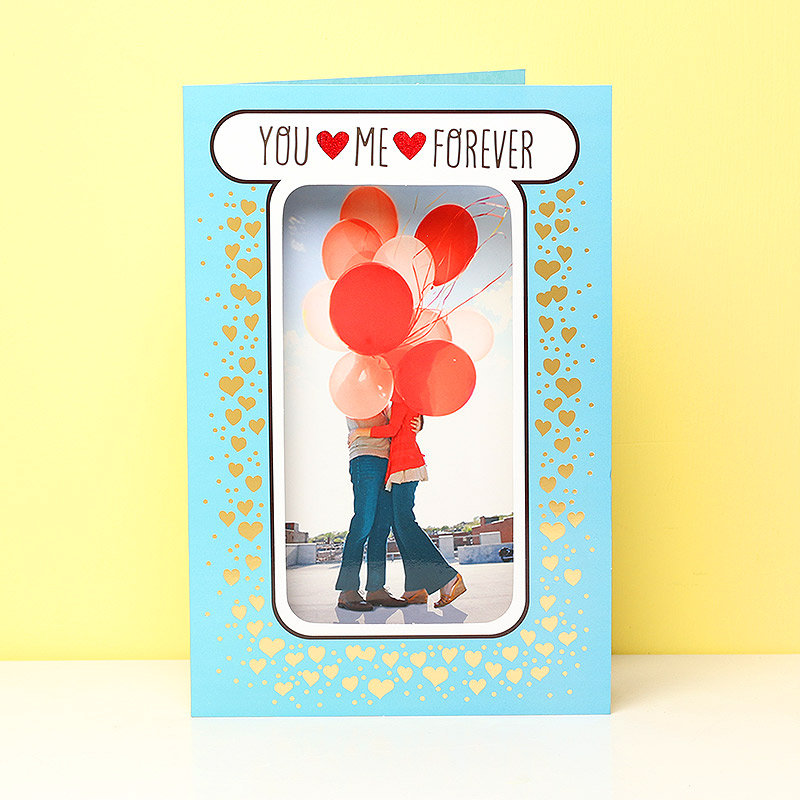 You Me Forever Valentines Gift Card