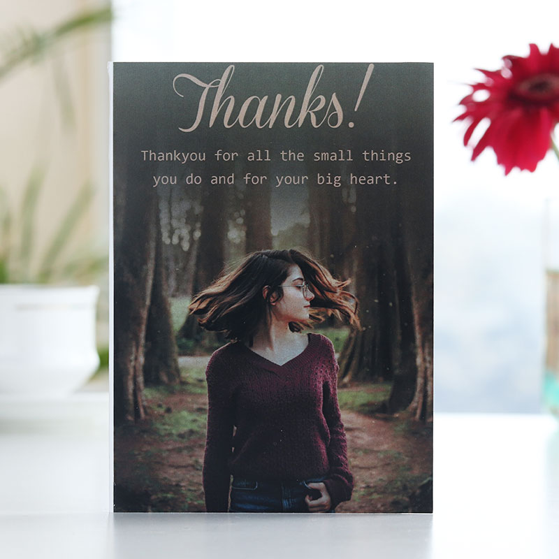 Thank You Love Card