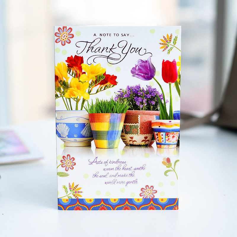 Thanks For Being There Greeting Card
