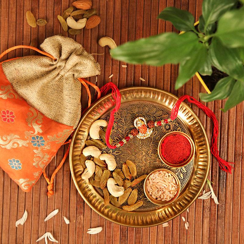 The Affectionate Rakhi Combo