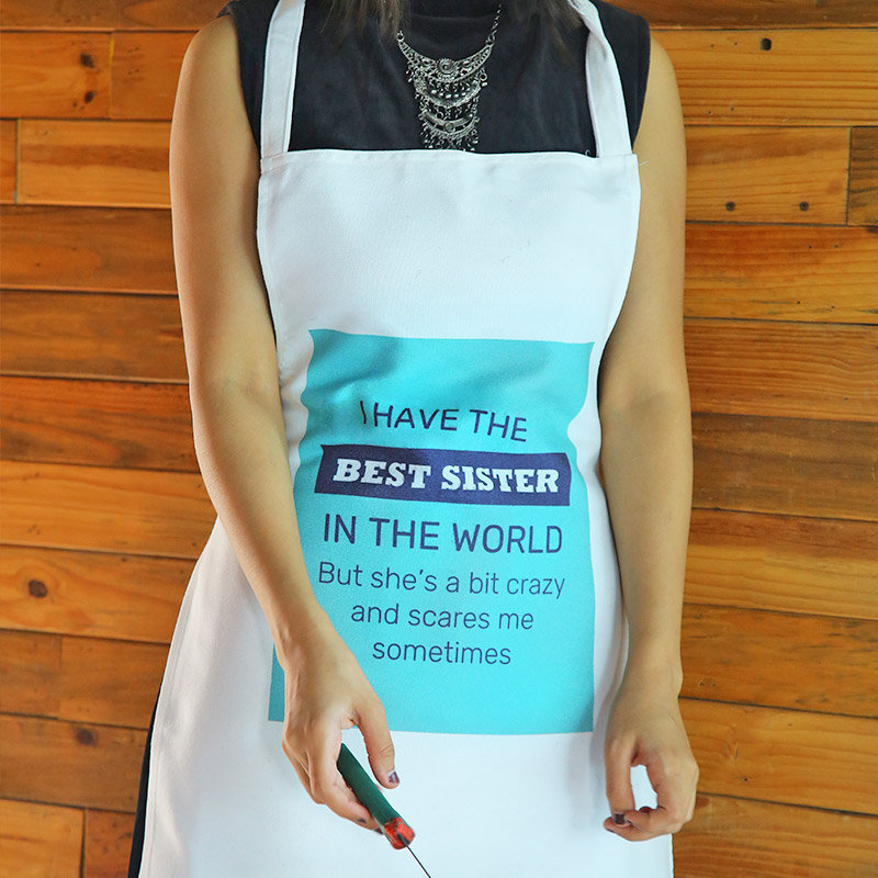 The Best Sister Apron