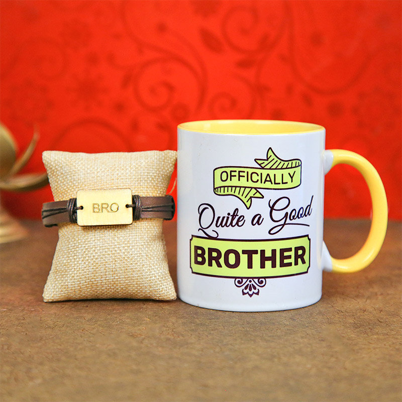 The Bro Code Rakhi Combo