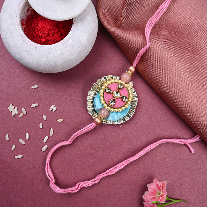 Top View of The Craftpiece Rakhi
