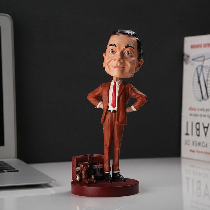 The Crazy Mr. Bean Bobblehead