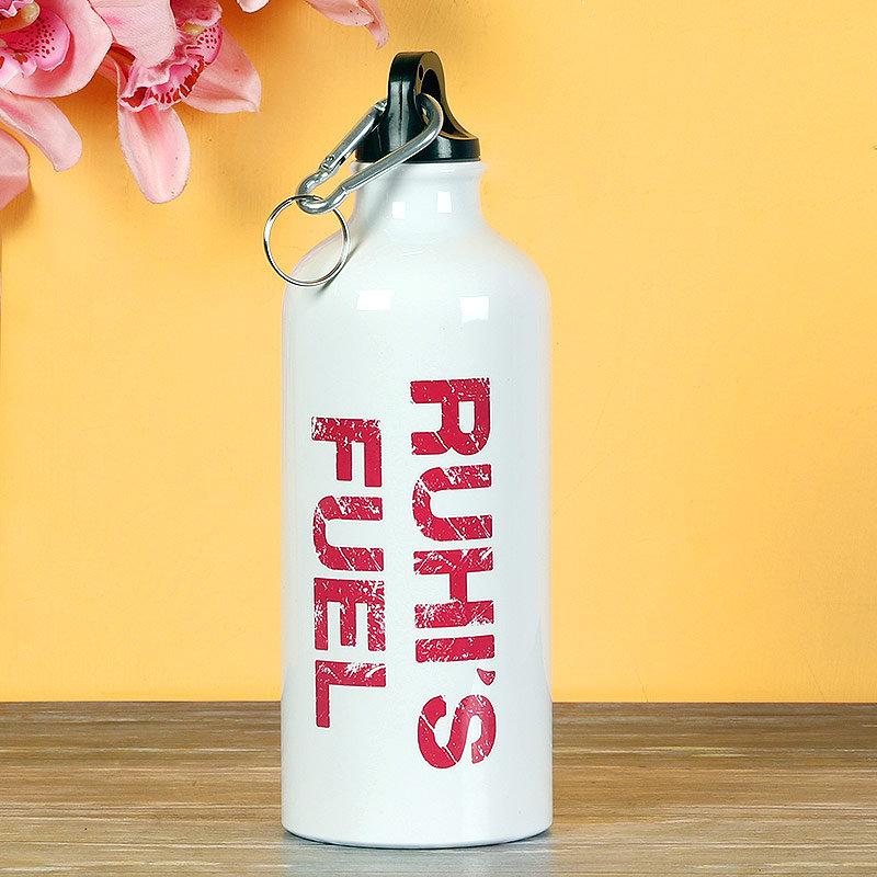 Personalised White Bottle