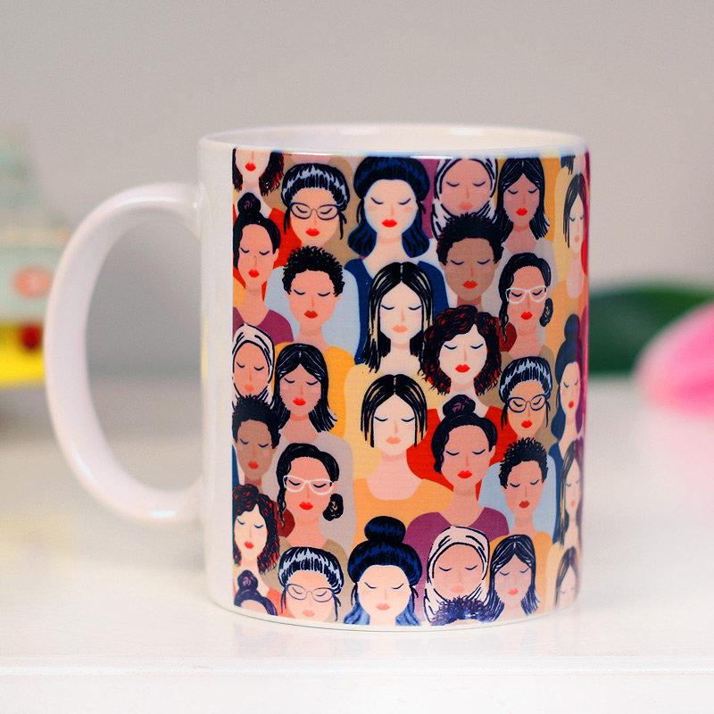 The Future is Female Mug - Printed White Ceramic Mug