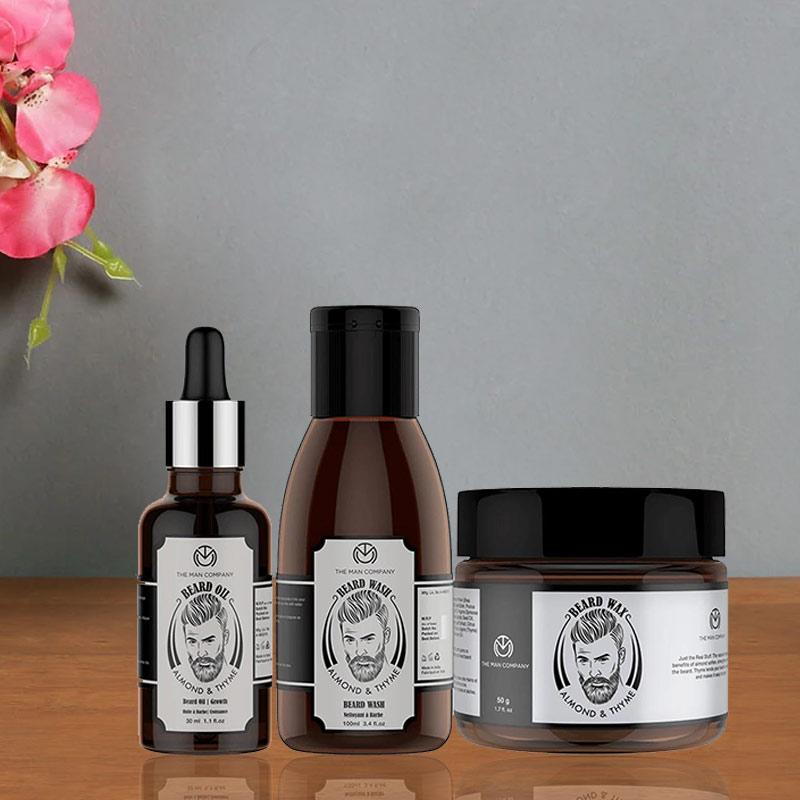 The Grooming Prerequisites - Beard Wash 100 ml and Beard Wax 50 gm And Beard Oil 30 ml