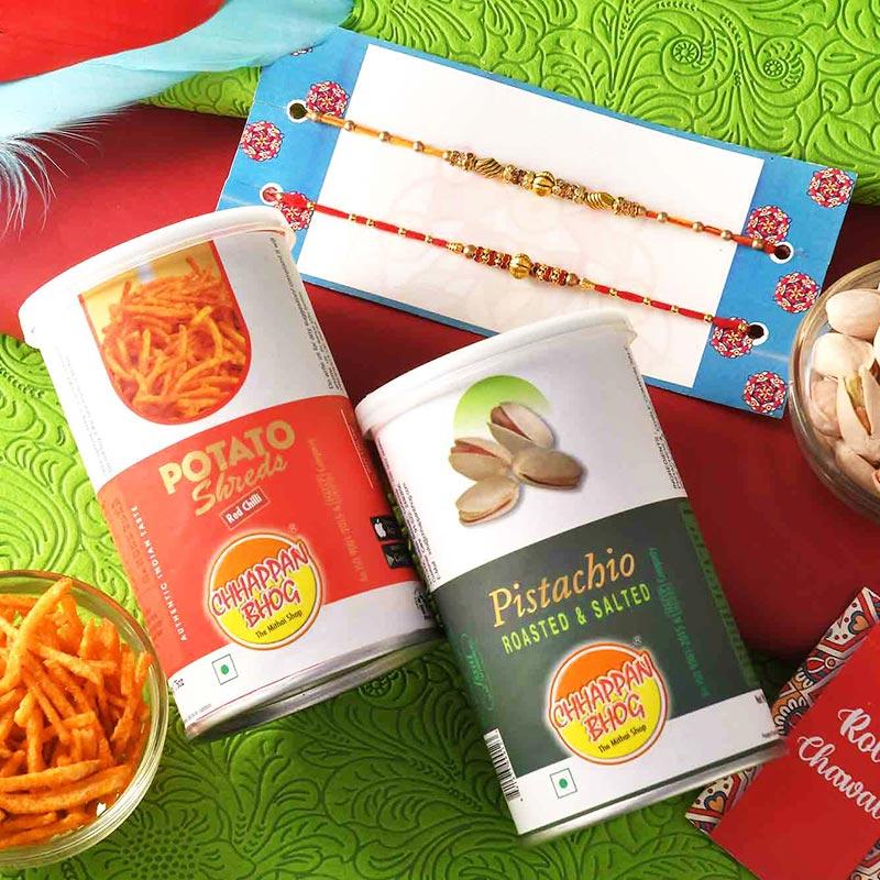 The Rakhi Snack Combo
