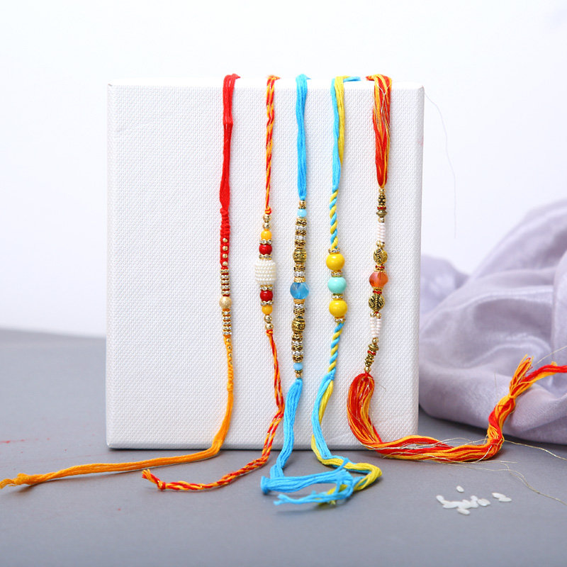 The Simple Colours Of Rakhi