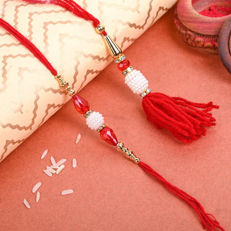 Thread Of Love Rakhi - One Bhaiya Bhabhi Rakhi