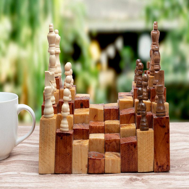 Three D Chess Set