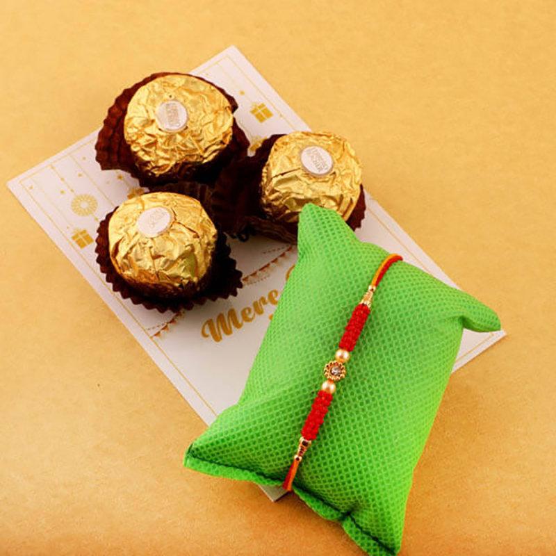 Three Ferrero Rakhi Combo