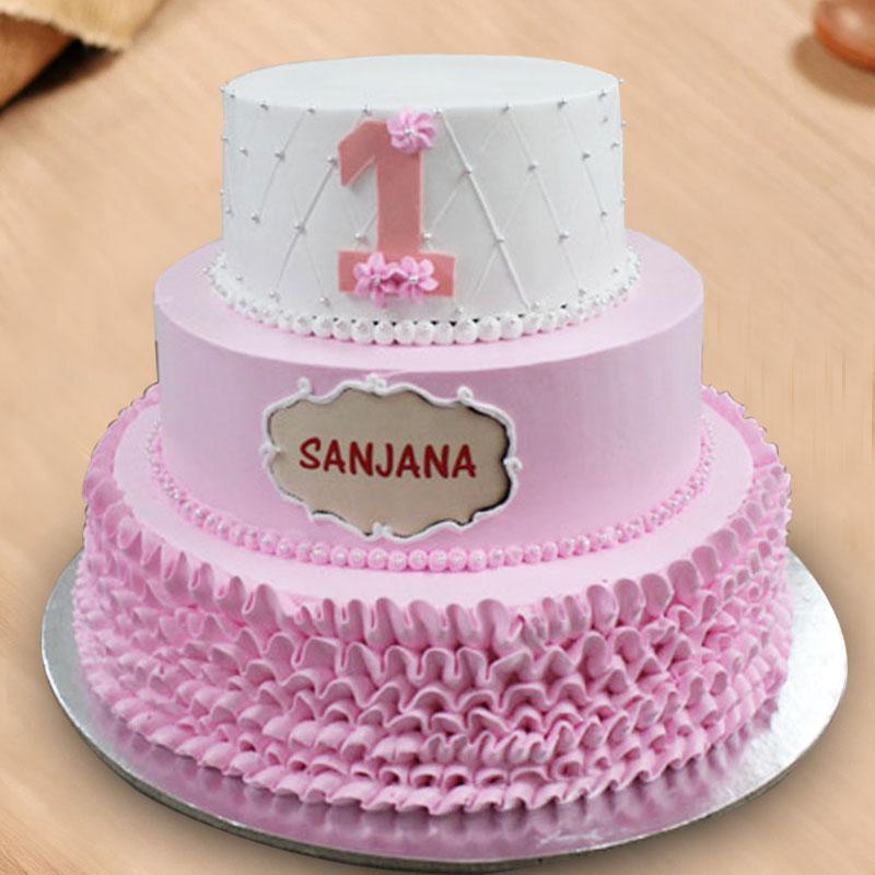 3 Tier Designer Cake