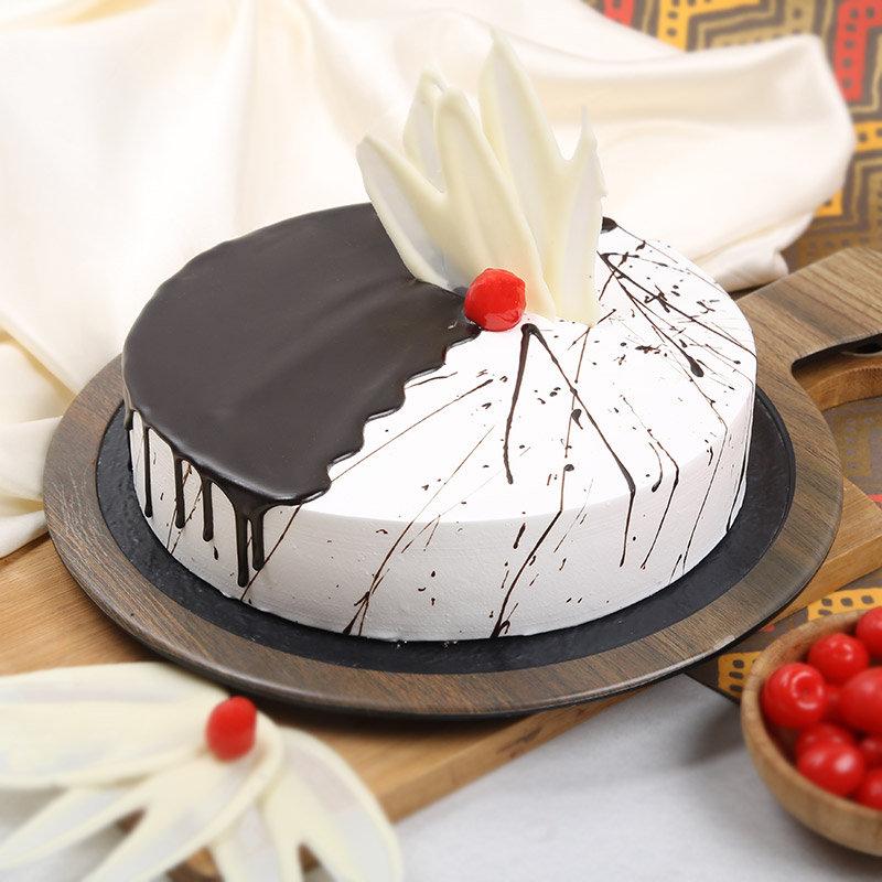 Order Online Choco Vanilla Cake