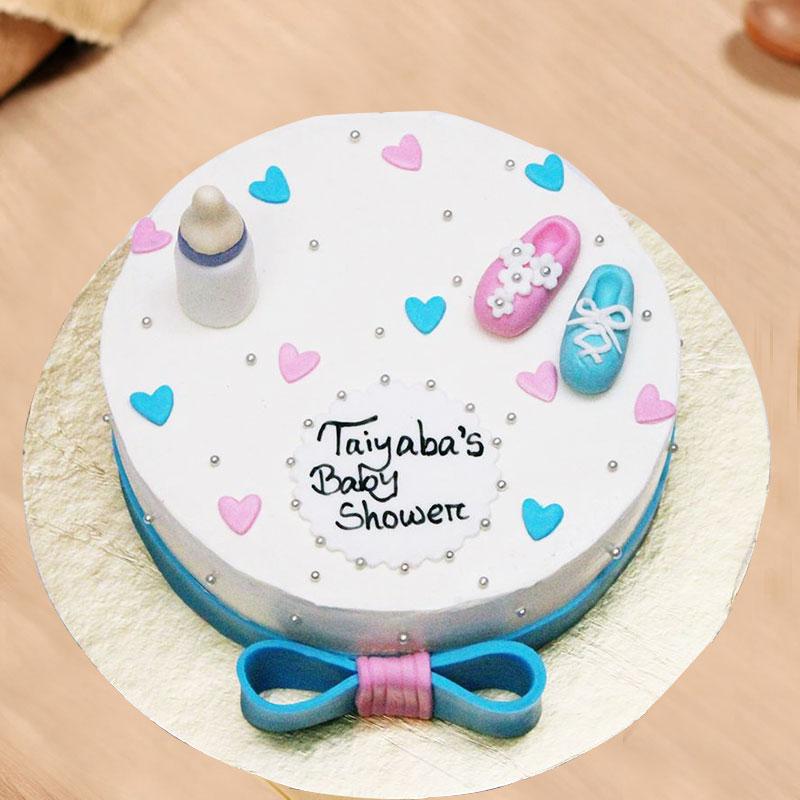 Fondant Cake for Baby Shower
