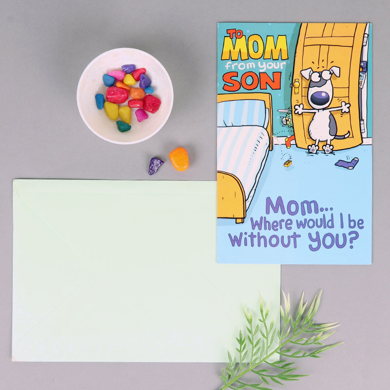 To Mom From Son Card