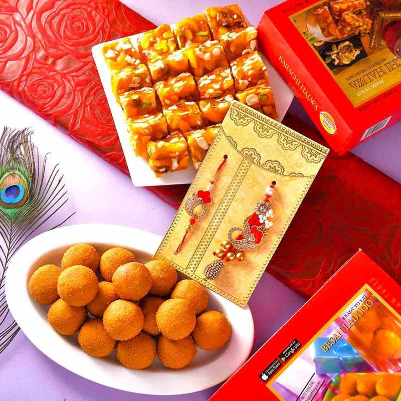 Token Of Love Rakhi Set