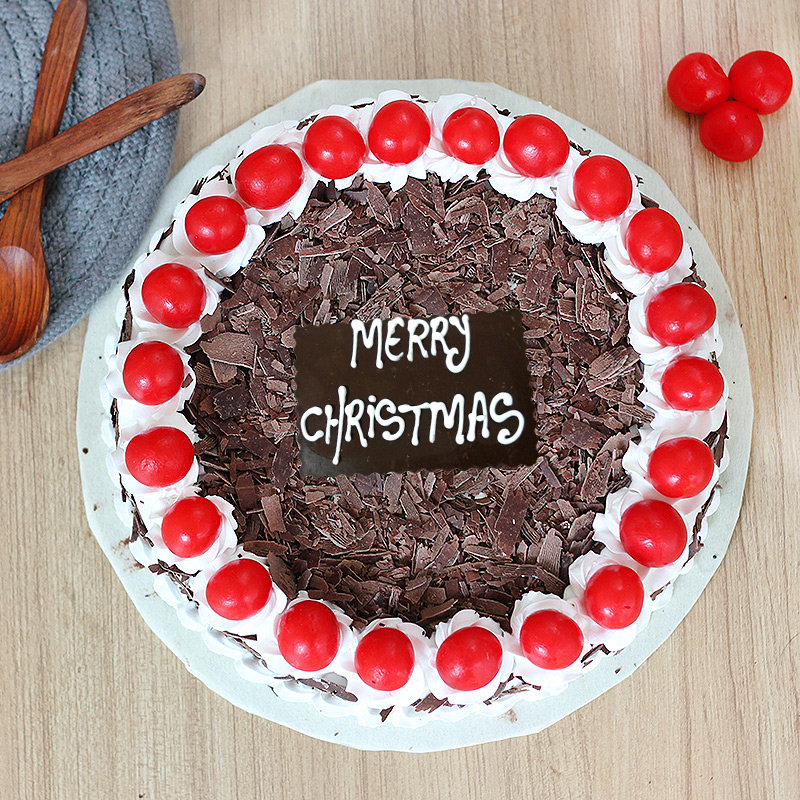 Christmas Black Forest Cake