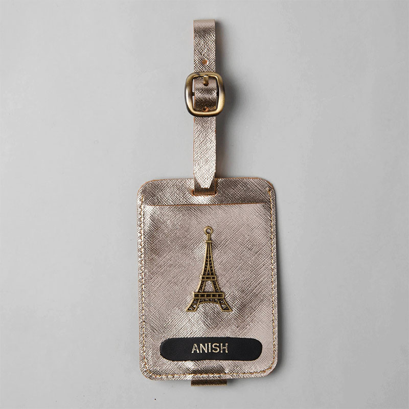 Tour Eiffel Custom Luggage Tag