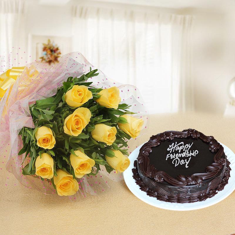 Truffle Cake N Roses