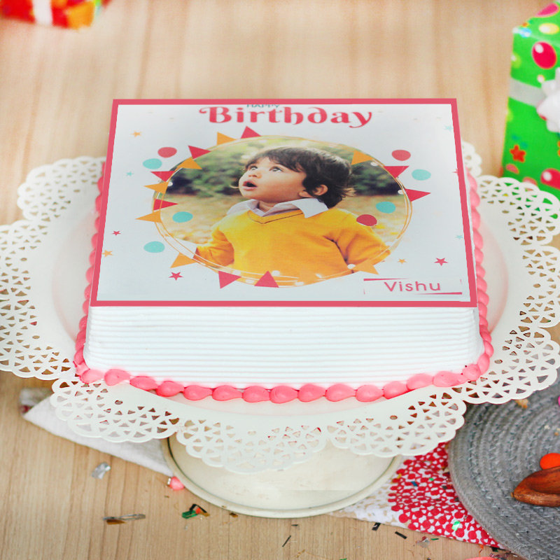 Online Photo Cake Delivery for Birthday