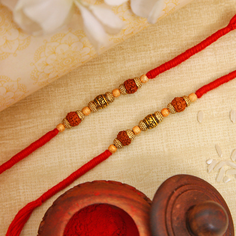 Two Awesome Traditional Rakhis
