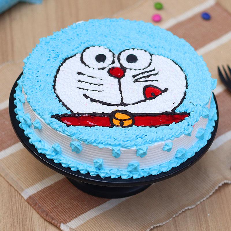 Doaremon Cartoon Cake