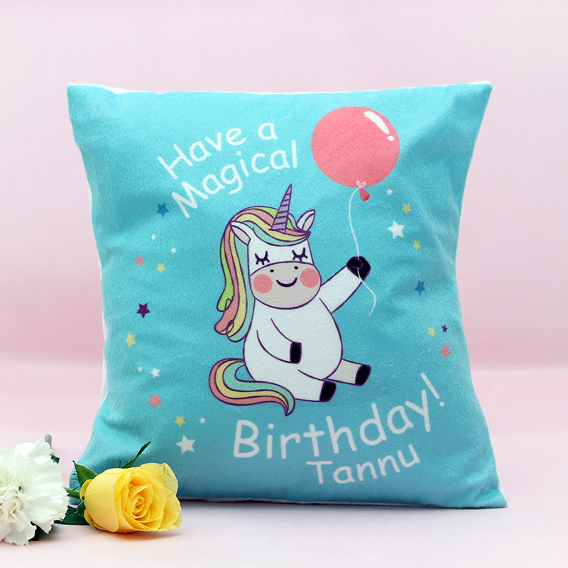 Birthday Printed Cushions for Home