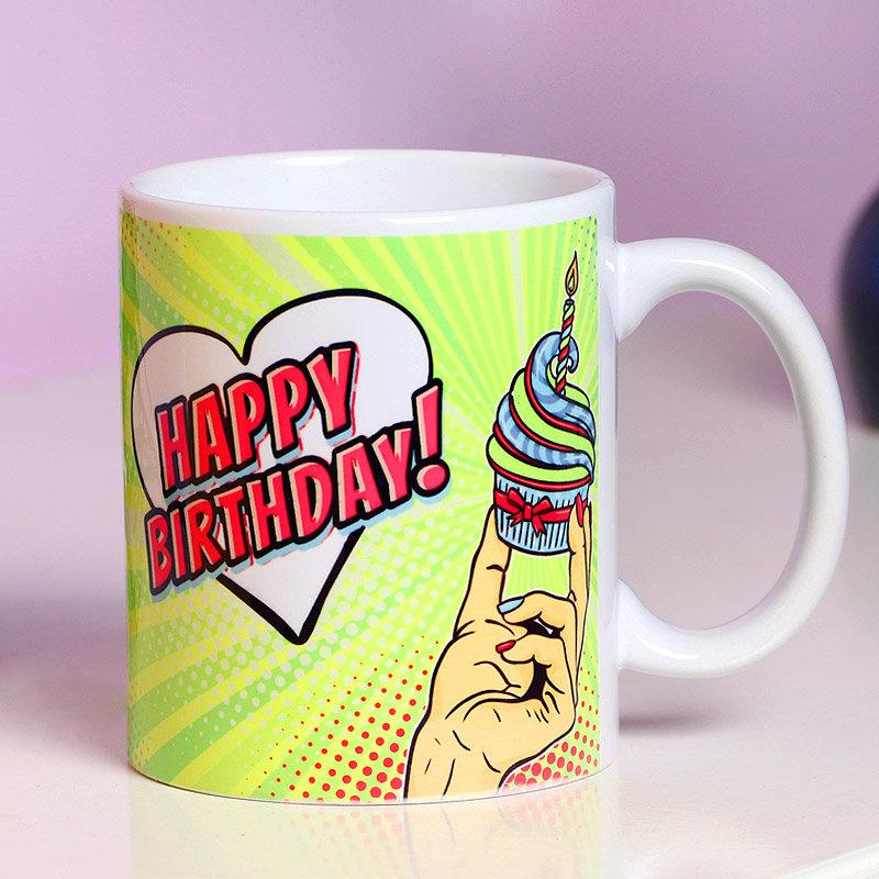 A Personalised Birthday Mug