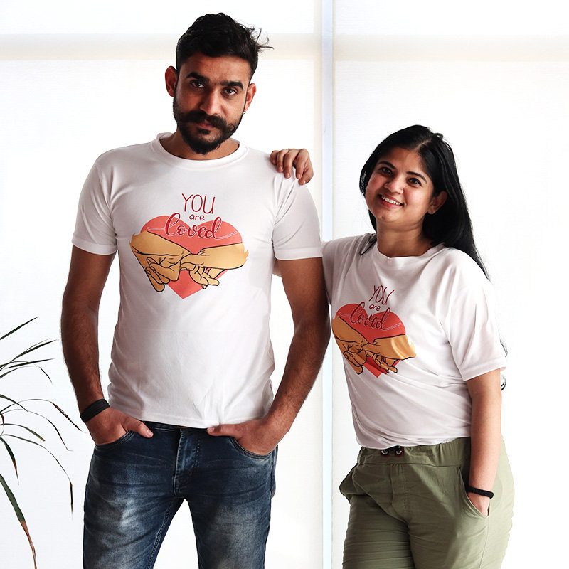 Valentines Couple T-Shirts