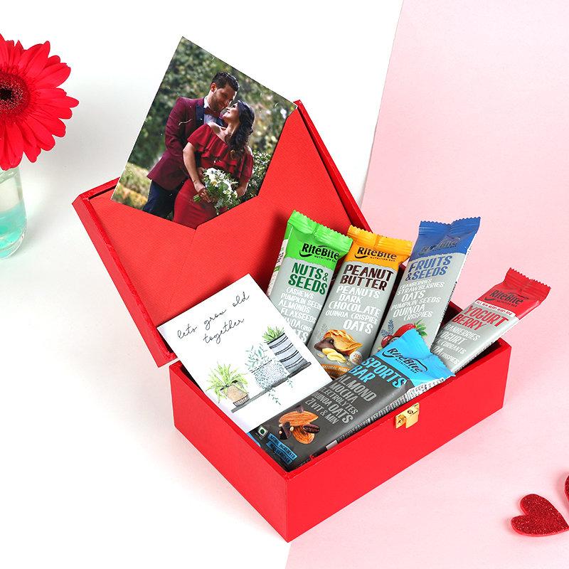 Valentines Protein Bar Box