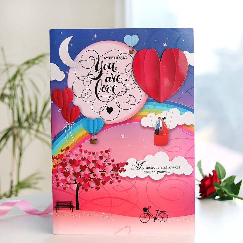 Valentine Sweetheart Card