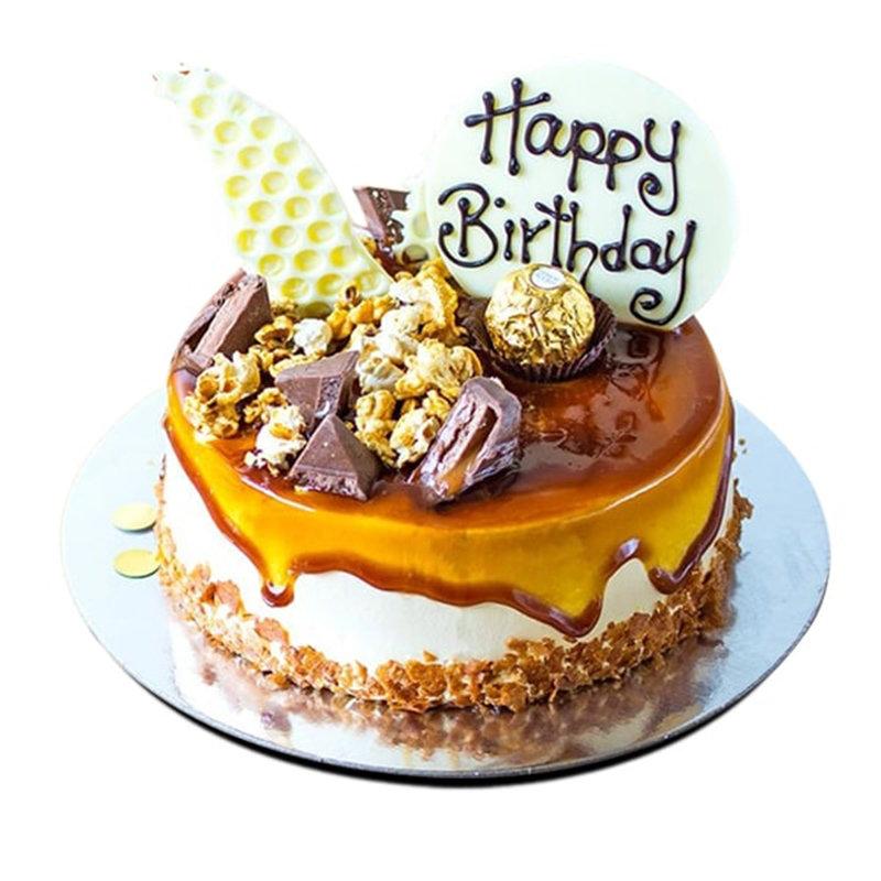 Vanilla N Caramel Cake