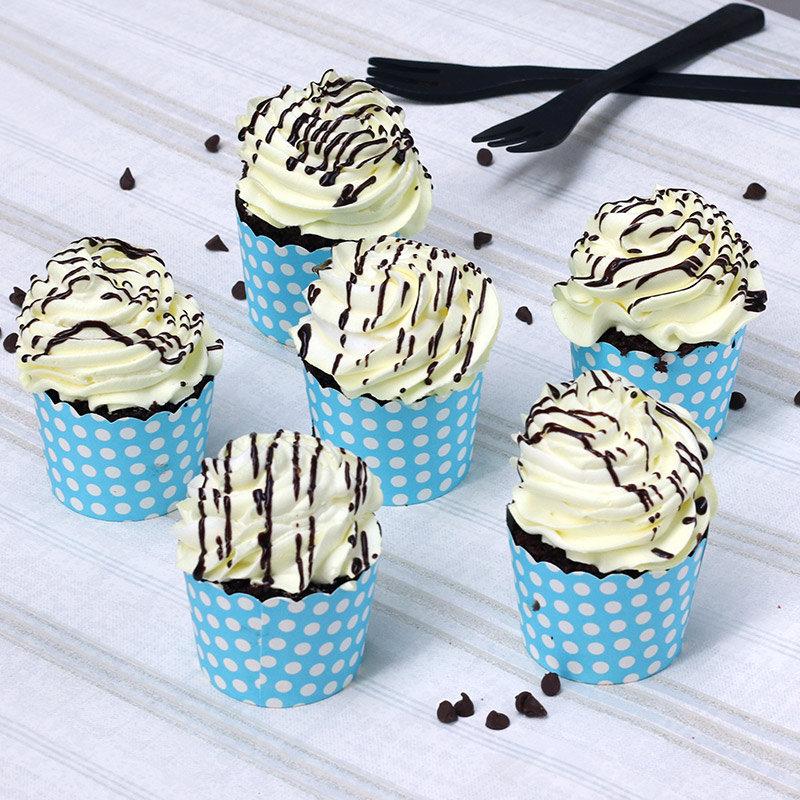 Choco Vanilla Cup Cakes
