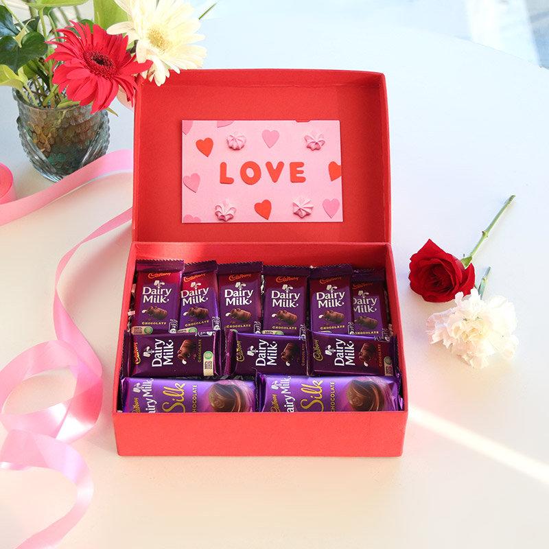 Vday Chocolate Box